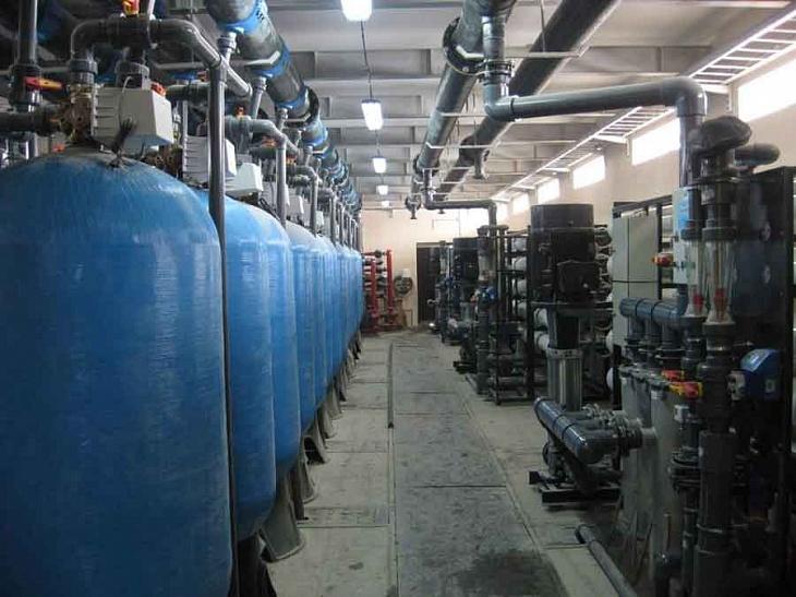 Фильтры для очистки воды засыпного типа